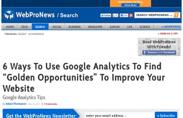 http://www.webpronews.com/google-analytics-tips-2011-05