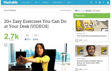 http://mashable.com/2011/05/16/desk-office-exercises/