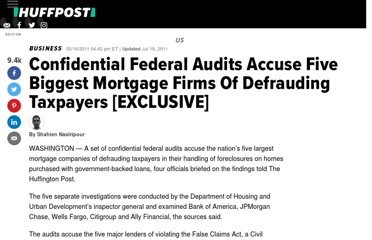 http://www.huffingtonpost.com/2011/05/16/foreclosure-fraud-audit-false-claims-act_n_862686.html