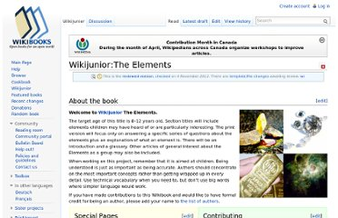 http://en.wikibooks.org/wiki/Wikijunior:The_Elements