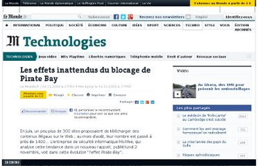 http://www.lemonde.fr/technologies/article/2009/11/04/les-effets-inattendus-du-blocage-de-pirate-bay_1262817_651865.html#ens_id=1241606