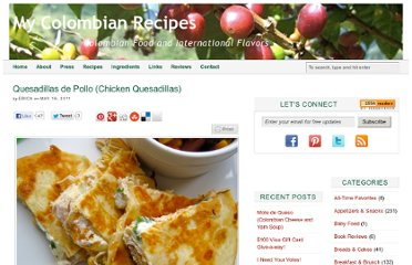 http://www.mycolombianrecipes.com/quesadillas-de-pollo-chicken-quesadillas