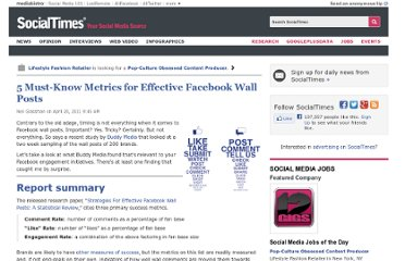 http://socialtimes.com/5-metrics-effective-facebook-wall-posts_b58490
