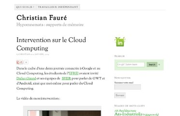 http://www.christian-faure.net/2009/01/21/intervention-sur-le-coud-computing/