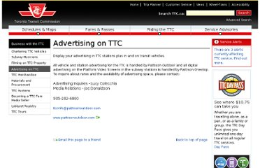http://www3.ttc.ca/TTC_Business/Advertising_on_TTC/index.jsp