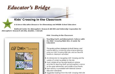 http://www.eo.ucar.edu/educators/KC_guide_intro.html
