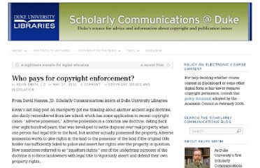 http://blogs.library.duke.edu/scholcomm/2011/05/17/who-pays-for-copyright-enforcement/