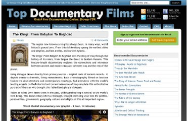 http://topdocumentaryfilms.com/kings-from-babylon-to-baghdad/