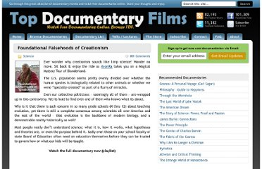 http://topdocumentaryfilms.com/foundational-falsehoods-of-creationism/