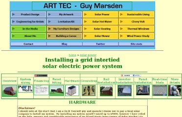 http://www.arttec.net/SolarPower/4_Hardware/index.htm#Picking_up_the_panels_etc.