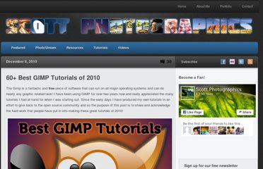http://www.scottphotographics.com/40-best-gimp-tutorials-of-2010/