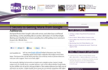 http://technology.inc.com/2010/09/06/7-secrets-to-getting-more-from-google-adwords-2/