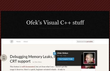 https://thetweaker.wordpress.com/2009/06/19/debugging-memory-leaks-part-2-crt-support/