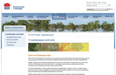 http://www.environment.nsw.gov.au/soils/index.htm