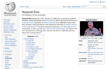 http://en.wikipedia.org/wiki/Howard_Zinn