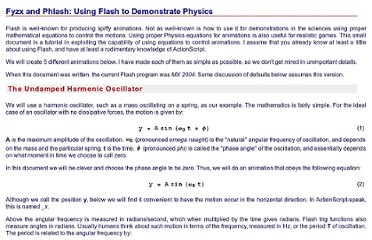 http://faraday.physics.utoronto.ca/PVB/Harrison/Flash/Tutorial/FlashPhysics.html