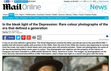 http://www.dailymail.co.uk/news/article-1388179/Rare-Library-Congress-colour-photographs-Great-Depression.html