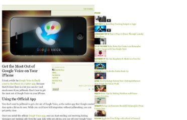 http://lifehacker.com/5776194/get-the-most-out-of-google-voice-on-your-iphone