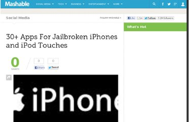 http://mashable.com/2008/06/25/jailbroken-iphone-apps/