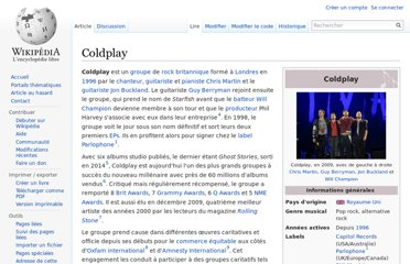 http://fr.wikipedia.org/wiki/Coldplay