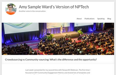 http://amysampleward.org/2011/05/18/crowdsourcing-vs-community-sourcing-whats-the-difference-and-the-opportunity/