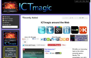 http://ictmagic.wikispaces.com/%2ARecently+Added