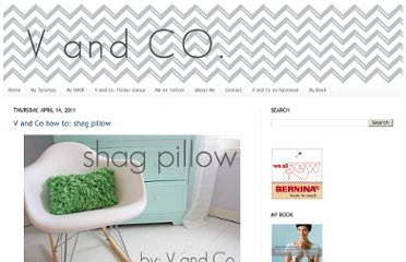 http://www.vanessachristenson.com/2011/04/v-and-co-how-to-shag-pillow.html