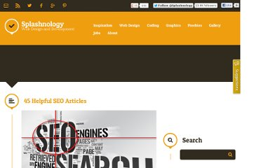 http://www.splashnology.com/article/45-helpful-seo-articles/272/