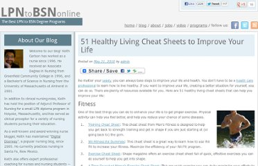 http://lpntobsnonline.org/2010/51-healthy-living-cheat-sheets-to-improve-your-life/