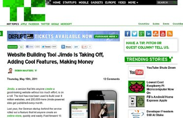 http://techcrunch.com/2011/05/19/website-building-tool-jimdo-is-taking-off-adding-cool-features-making-money/