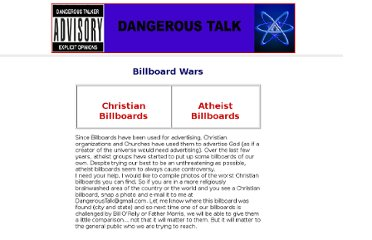 http://www.dangeroustalk.net/billboard-wars.html