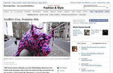 http://www.nytimes.com/2011/05/19/fashion/creating-graffiti-with-yarn.html?_r=2&hp