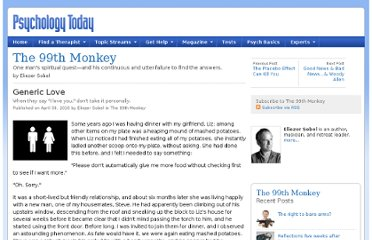 http://www.psychologytoday.com/blog/the-99th-monkey/201004/generic-love