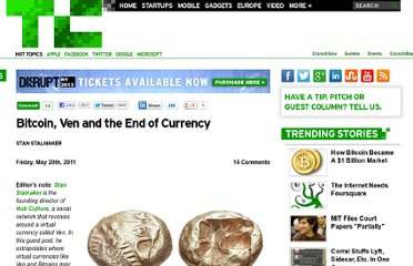 http://techcrunch.com/2011/05/20/bitcoin-ven-and-the-end-of-currency/