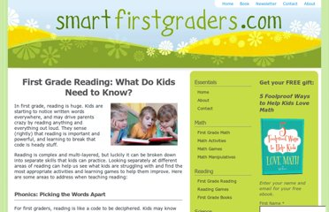 http://www.smartfirstgraders.com/first-grade-reading.html