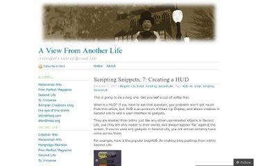 http://secondview.wordpress.com/2007/12/05/scripting-snippets-7-creating-a-hud/