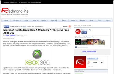 http://www.redmondpie.com/microsoft-to-students-buy-a-windows-7-pc-get-a-free-xbox-360/
