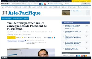 http://www.lemonde.fr/japon/article/2011/05/20/timide-transparence-sur-les-consequences-de-l-accident-de-fukushima_1525067_1492975.html#ens_id=1493262