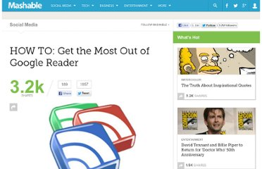 http://mashable.com/2011/05/20/optimize-google-reader/