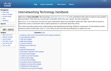 http://docwiki.cisco.com/wiki/Internetworking_Technology_Handbook