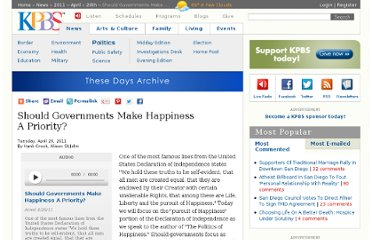 http://www.kpbs.org/news/2011/apr/26/should-governments-make-happiness-a-priority/