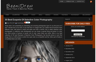 http://beenidrew.com/30-best-exapmle-of-selective-color-photography/