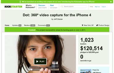 http://www.kickstarter.com/projects/dot/dot-360o-video-capture-for-the-iphone-4