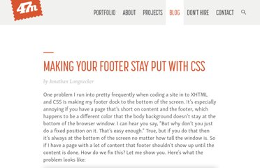 http://fortysevenmedia.com/blog/archives/making_your_footer_stay_put_with_css/