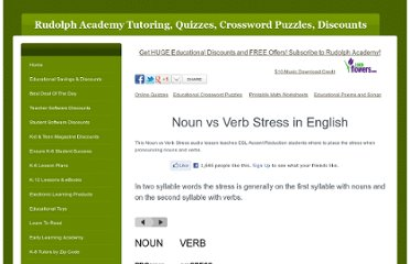 http://www.rhymerocker.com/noun-vs-verb-stress.html