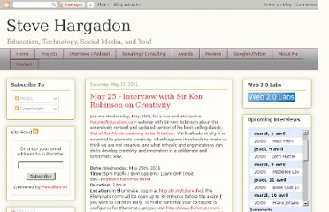 http://www.stevehargadon.com/2011/05/may-25-interview-with-sir-ken-robinson.html