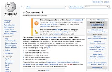 http://en.wikipedia.org/wiki/E-Government