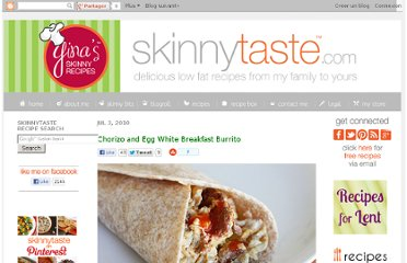http://www.skinnytaste.com/2010/07/chorizo-and-egg-white-breakfast-burrito.html