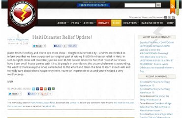 http://thehpalliance.org/2008/11/haiti-disaster-relief-update/