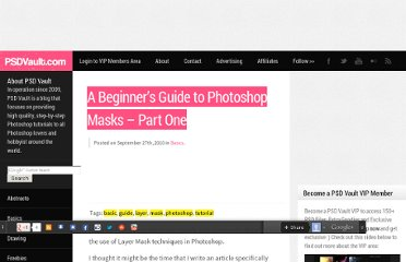 http://www.psdvault.com/basics/a-beginners-guide-to-photoshop-masks-part-one/